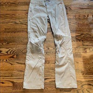 prAna Halle Olive Convertible Pants UPF 50+ 0